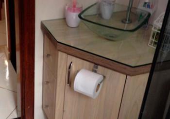 Armário banheiro – apartamento